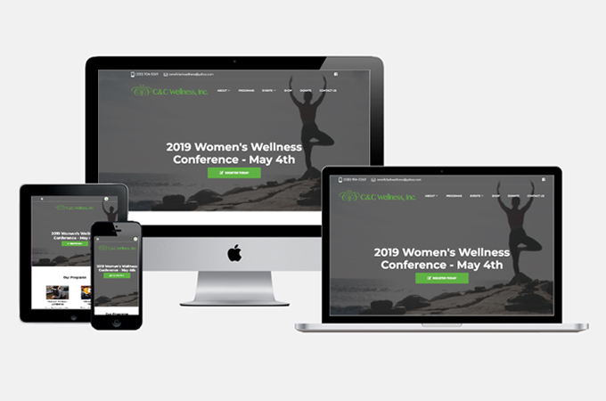 C&C Wellness, Inc. new website header