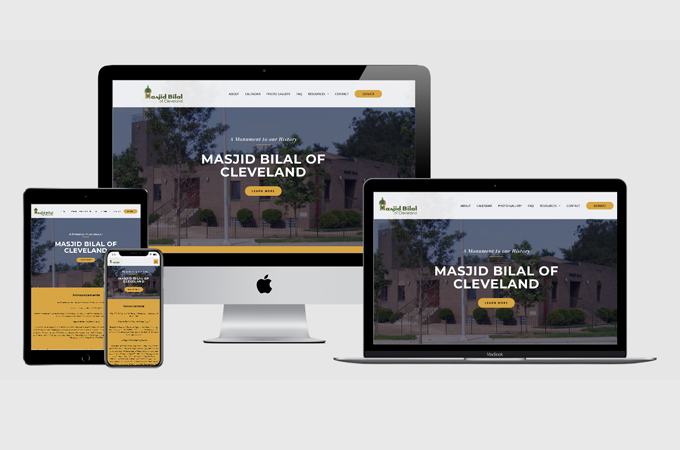 Masjid Bilal of Cleveland New Website